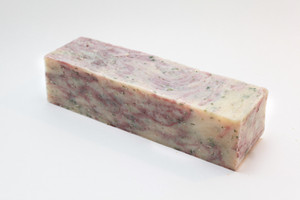 Cranberry soap loaf MakeYourOwn