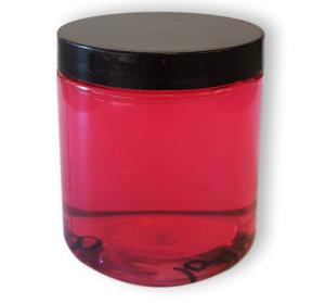 8oz Clear Jar, 8 oz Clear PET Jar, PET Jar, Clear Jar, 70/400 Jar