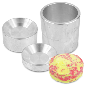 Bath Bomb Mold tablet style bath bomb mold Bath Bomb Mold for pneumatic press Aluminum Bath Bomb Mold