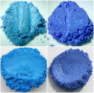 Blue Mica set Blue Mica Collection