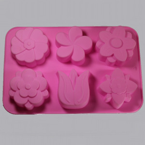 Flower Silicone Soap Mold Outside