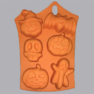 Halloween Silicone Soap Mold Outside
