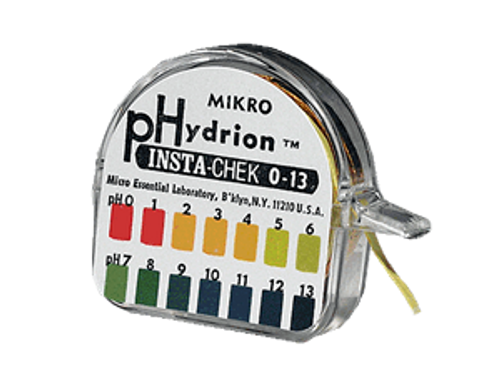 Hydrion pH Test paper 0-13 pH