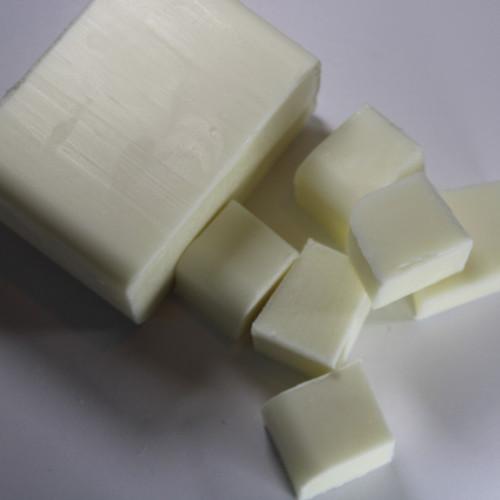 Goats Milk Melt and Pour Soap Base Cut