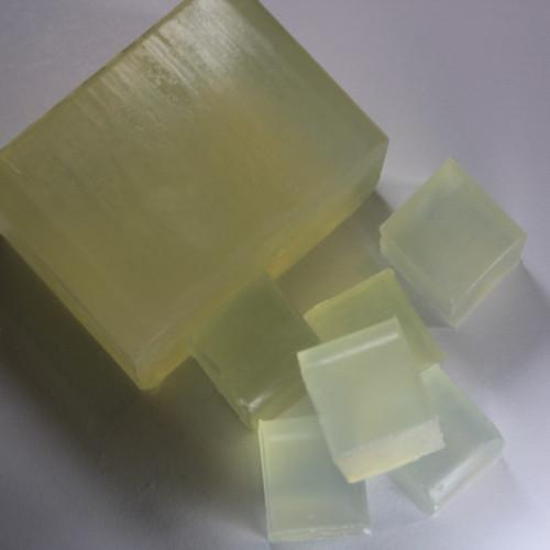 Crystal Clear Glycerin Melt and Pour Soap Base Cut