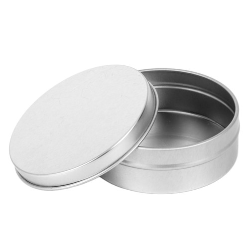4 Oz Tin Container with Lid