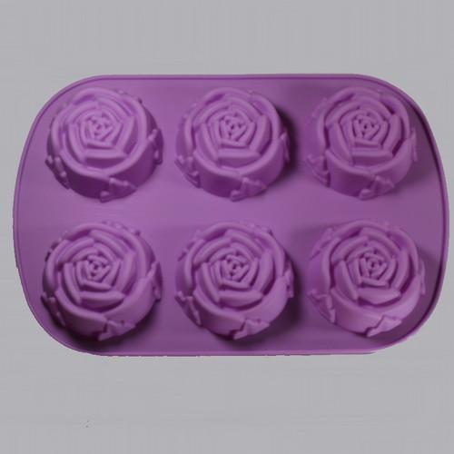 Silicone Rose Mold exterior