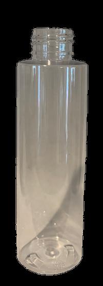 4 Oz Clear PET Cylinder Bottle MakeYourOwn