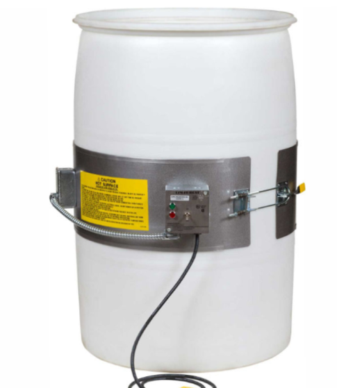 Drum heater for plastic drums