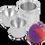 Bath Bomb Press Mold 2 Inch Egg