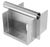 Stainless Steel Miter Box with straight cutter