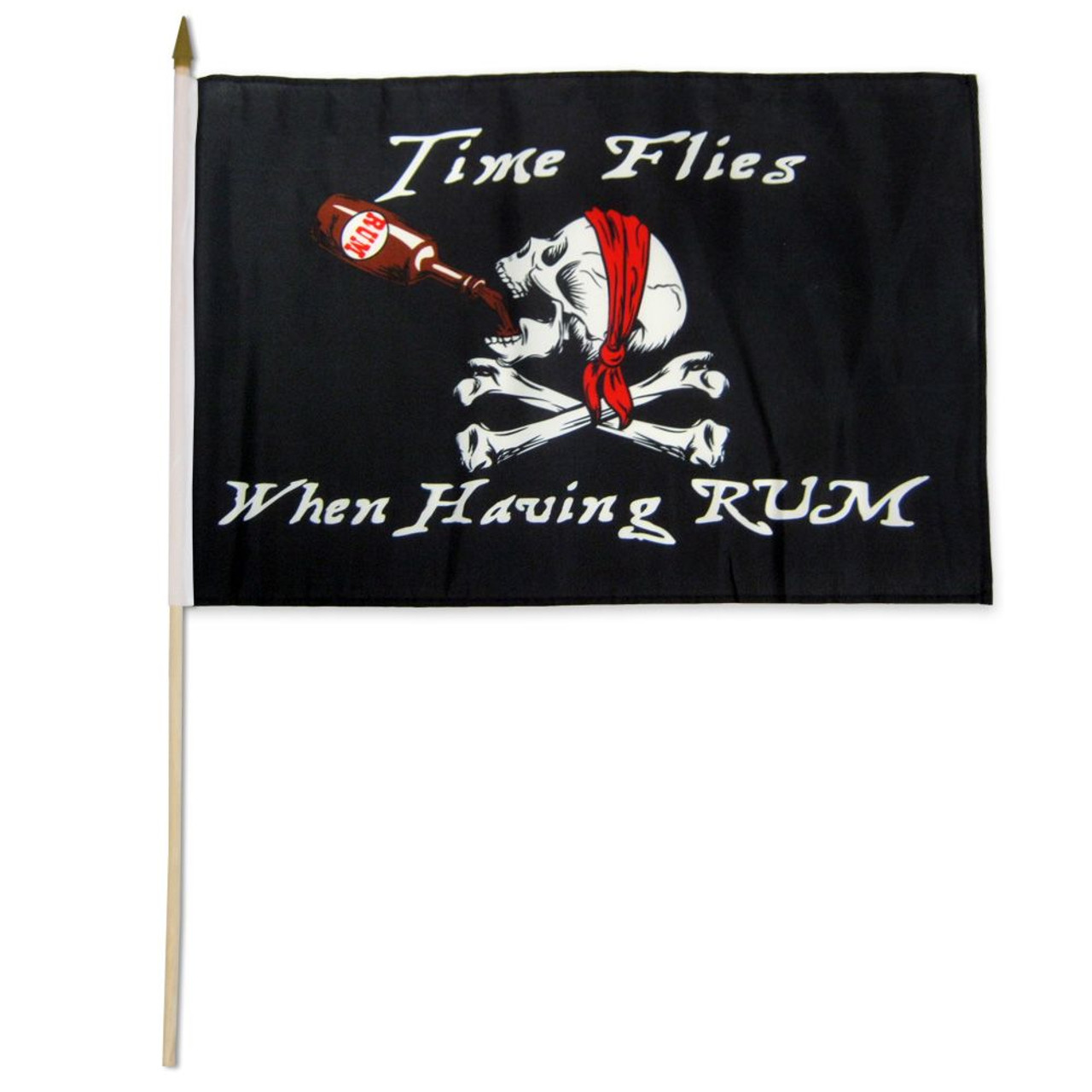 PIRATE 2x3ft Flag polyester