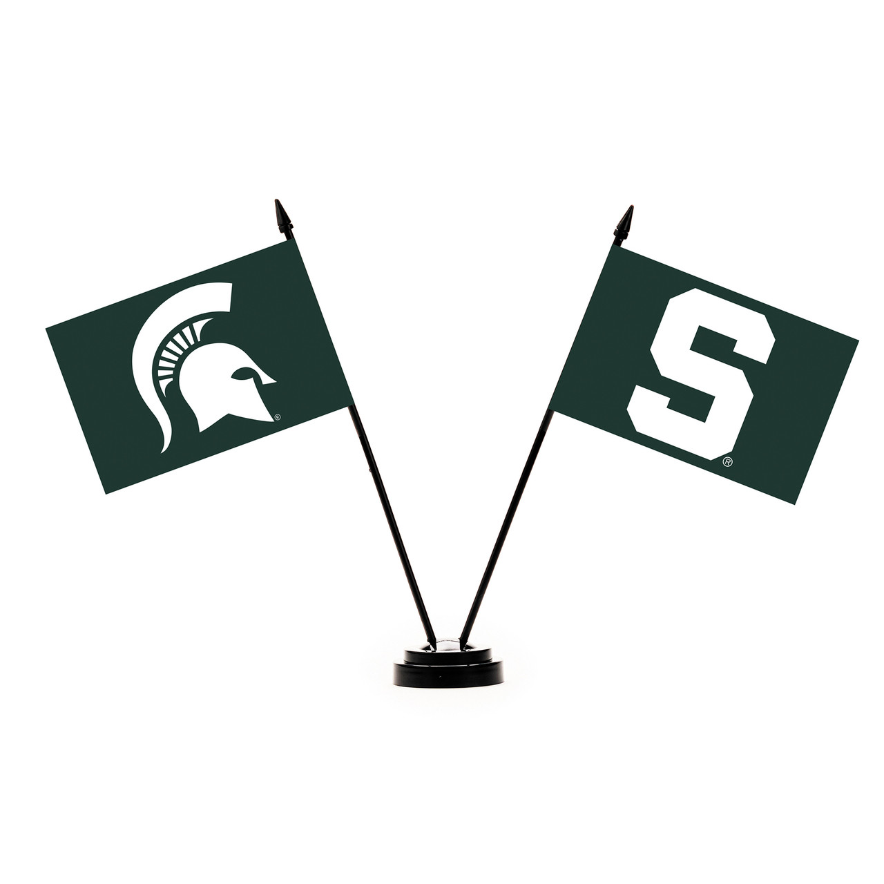 NCAA Michigan State Spartans Growth Chart Banner Green