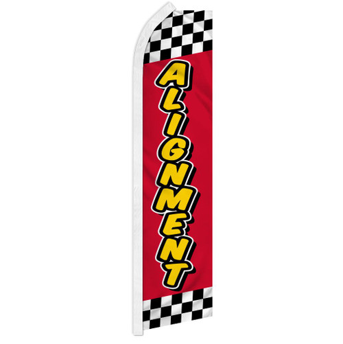 Alignment (Red & Yellow) Super Flag
