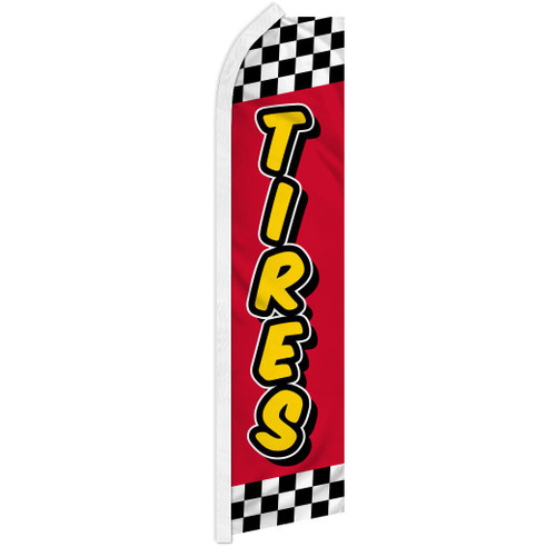 Tires (Red & Yellow) Super Flag