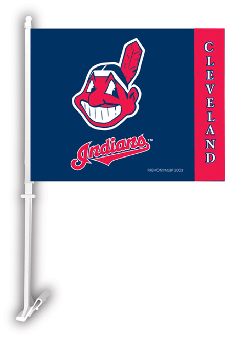 Clevelands Indians Car Flag