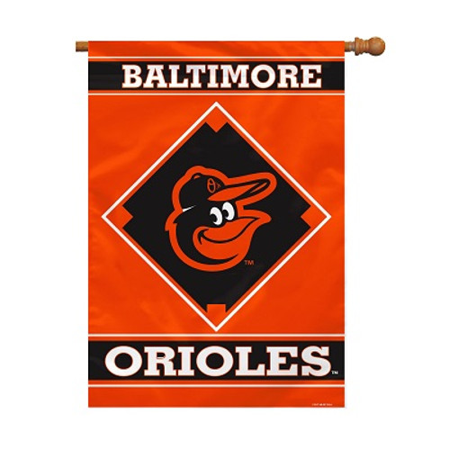 """Baltimore Orioles 28"""" x 40"""" 1- Sided House Banner"""