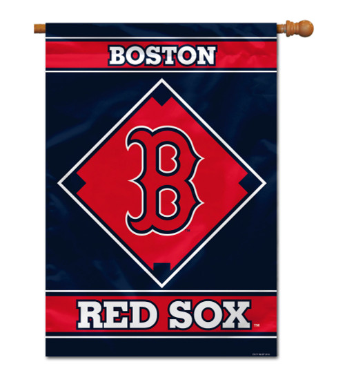 """Boston Red Sox 28"""" x 40"""" 1- Sided House Banner"""