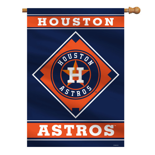 "Houston Astros 28"" x 40"" 1- Sided House Banner"