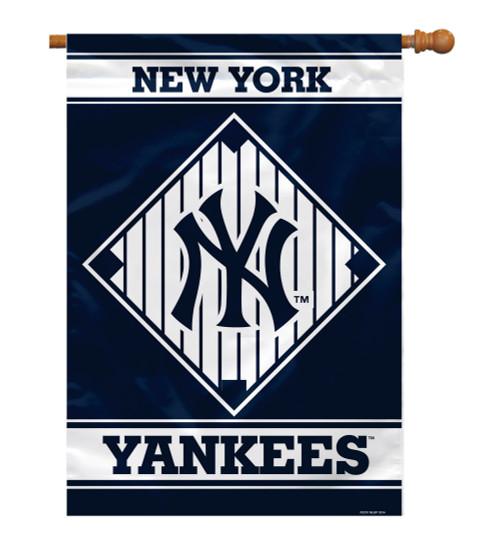 "New York Yankees 28"" x 40"" 1- Sided House Banner"