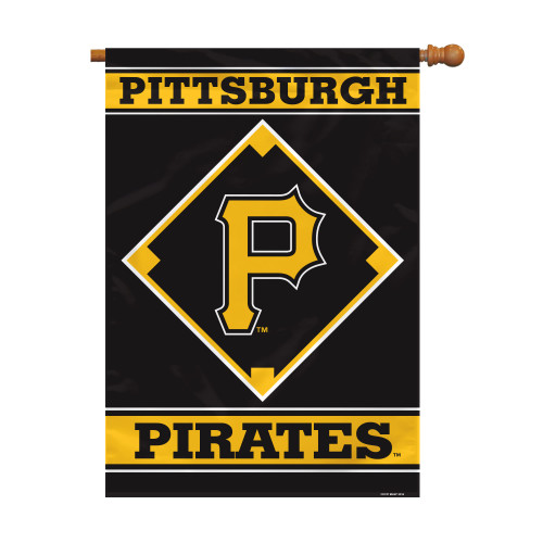 "Pittsburgh Pirates 28"" x 40"" 1- Sided House Banner"