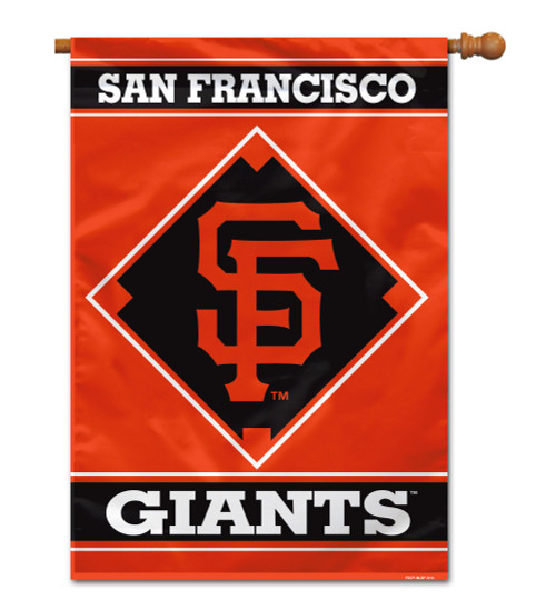 """San Francisco Giants 28"""" x 40"""" 1- Sided House Banner"""