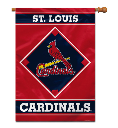 "St. Louis Cardinals 28"" x 40"" 1- Sided House Banner"