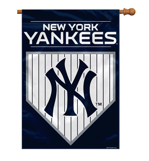"New York Yankees 28"" x 40"" 2 - Sided House Banner"