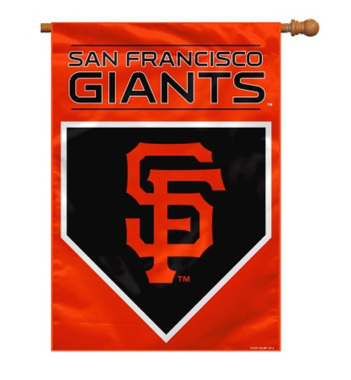 """San Francisco Giants 28"""" x 40"""" 2 - Sided House Banner"""
