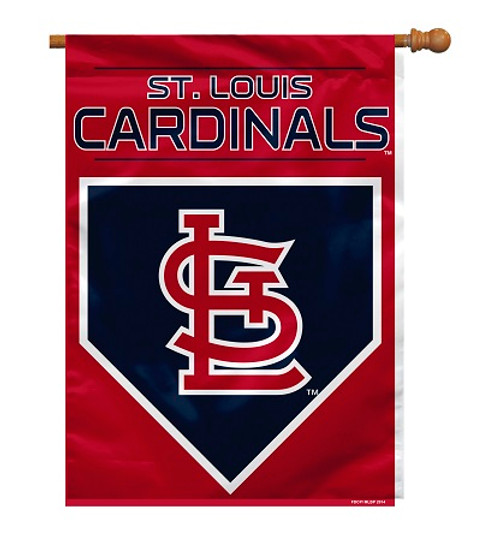 "St. Louis Cardinals 28"" x 40"" 2 - Sided House Banner"