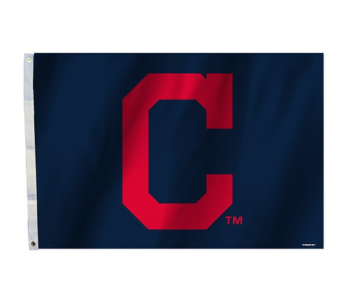 Cleveland Indians 2 Ft. X 3 Ft. Flag W/Grommetts