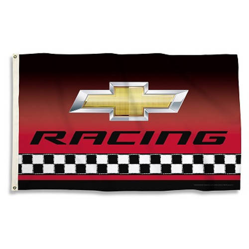 CHEVY RACING 3 Ft. X 5 Ft. Flag W/Grommets
