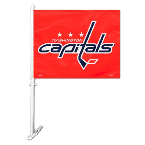 Washington Capitals Car Flag