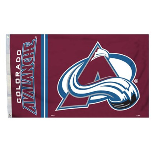 Colorado Avalanche 3 Ft. X 5 Ft. Flag W/Grommetts