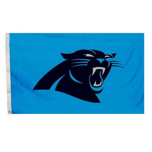 Carolina Panthers 3 Ft. X 5 Ft. Flag W/Grommets