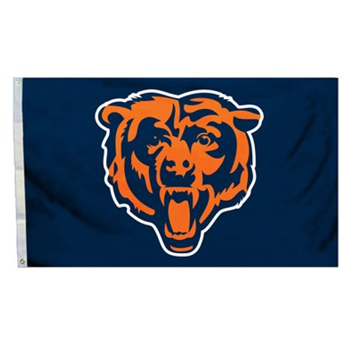Chicago Bears 3 Ft. X 5 Ft. Flag W/Grommets