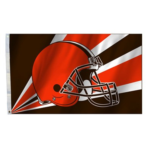 Cleveland Browns 3 Ft. X 5 Ft. Flag W/Grommets