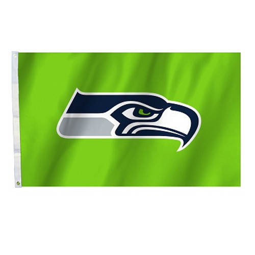 Seattle Seahawks 3 Ft. X 5 Ft. Flag W/Grommets