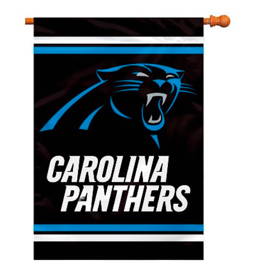 "Carolina Panthers ""28 X 40"" 2-Sided House Banner"