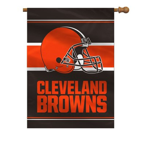 """Cleveland Browns """"28 X 40"""" 2-Sided House Banner"""