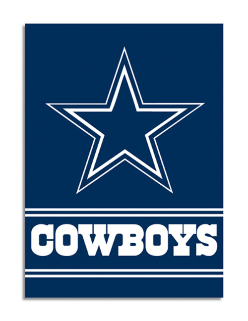 "Dallas Cowboys ""28 X 40"" 2-Sided House Banner"