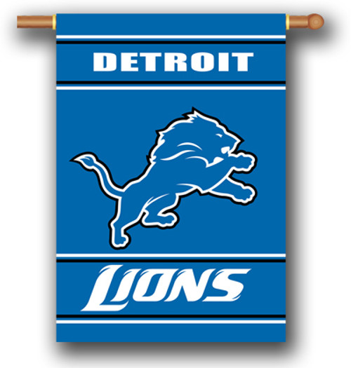 "Detroit Lions ""28 X 40"" 2-Sided House Banner"