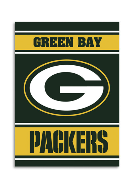 """Green Bay Packers """"28 X 40"""" 2-Sided House Banner"""