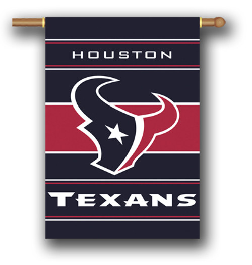 "Houston Texans ""28 X 40"" 2-Sided House Banner"