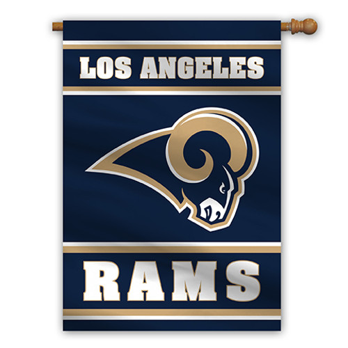 """Los Angeles Rams """"28 X 40"""" 2-Sided House Banner"""