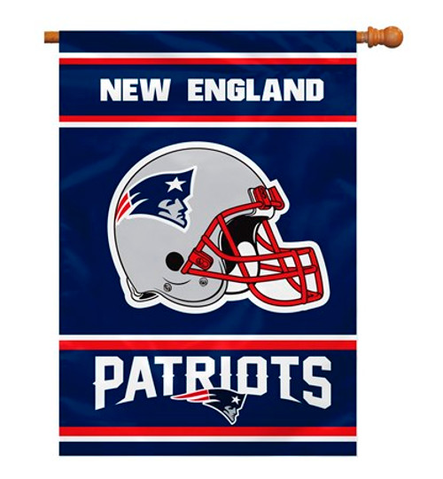 """New England Patriots """"28 X 40"""" 2-Sided House Banner"""