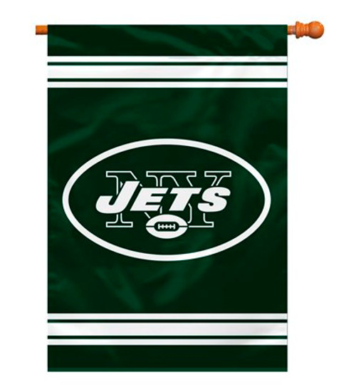 """New York Jets """"28 X 40"""" 2-Sided House Banner"""
