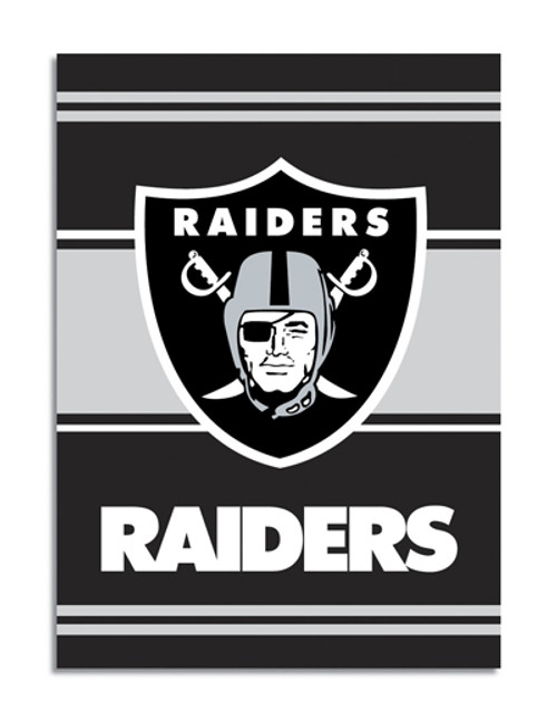"Oakland Raiders ""28 X 40"" 2-Sided House Banner"
