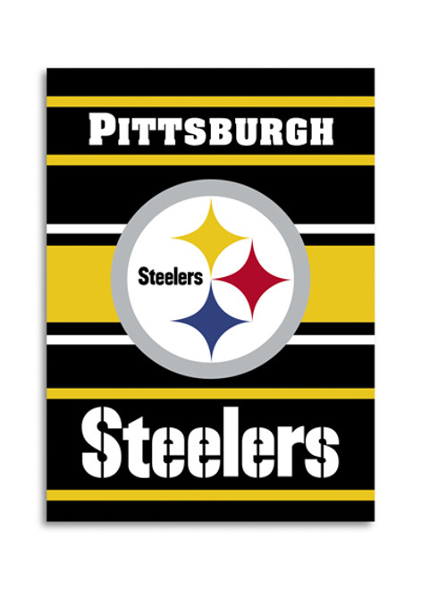 "Pittsburgh Steelers ""28 X 40"" 2-Sided House Banner"