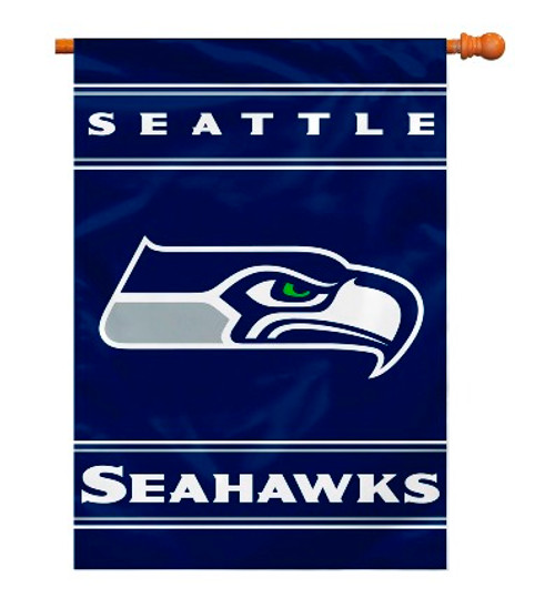 "Seattle Seahawks ""28 X 40"" 2-Sided House Banner"